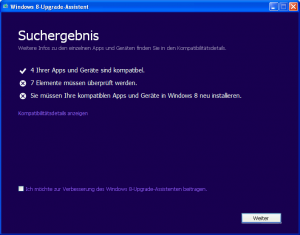 Windows 8-Upgrade-Assistent