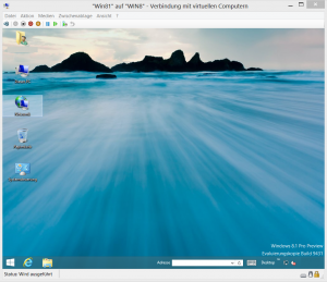 Windows 8.1 Preview unter Hyper-V