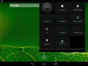 Android-x86 Einstellungen