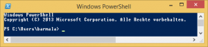 PowerShell Fenster