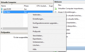 Konfigurationsversion upgraden (1/2)