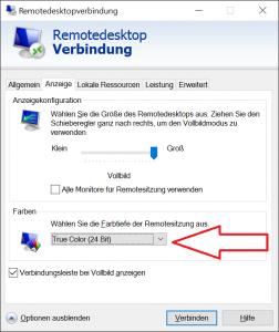 Klassisches Remote Desktop Programm