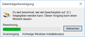 Vorherige Windows-Installation(en)