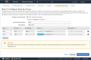 AWS Security Group