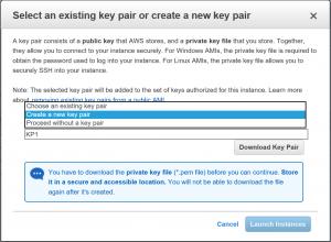 AWS Keypair