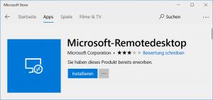 Microsoft RDP