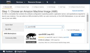 openSUSE AMI